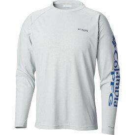コロンビア Columbia メンズ 釣り・フィッシング トップス【Terminal Deflector LS Shirt】Cool Grey/Vivid Blue