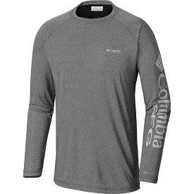 コロンビア Columbia メンズ 釣り・フィッシング トップス【Terminal Deflector LS Shirt】Black/Cool Grey