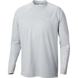 コロンビア Columbia メンズ 釣り・フィッシング トップス【Terminal Deflector Zero LS Shirt】Cool Grey