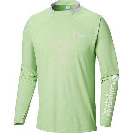 コロンビア Columbia メンズ 釣り・フィッシング トップス【Terminal Deflector Zero LS Shirt】Green Mamba/Cool Grey