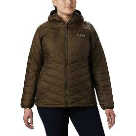 コロンビア Columbia レディース ジャケット フード アウター【Titanium Snow Country Hooded Jacket】Olive Green