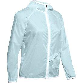 アンダーアーマー Under Armour レディース ランニング・ウォーキング ジャケット アウター【Storm Packable Jacket】Rift Blue/White/Reflective