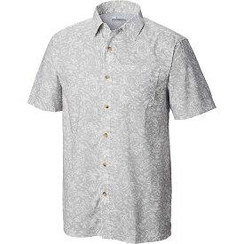 コロンビア Columbia メンズ 釣り・フィッシング トップス【Super Slack Tide Camp Shirt】Cool Grey Kona Print