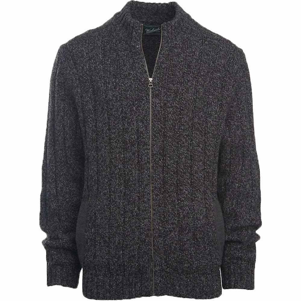 ウールリッチ メンズ トップス ニット・セーター【Woolrich Frost Run Wool Cardigan】Onyx Heather