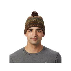 マウンテンハードウェア Mountain Hardwear ユニセックス ニット ビーニー 帽子【Belay Beanie】Void