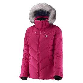 サロモン Salomon レディース スキー・スノーボード ジャケット アウター【Icetown Jacket】Gaura Pink