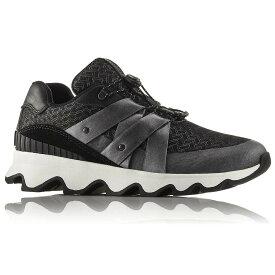 ソレル Sorel レディース ランニング・ウォーキング シューズ・靴【Kinetic Sneak Shoe】Black/Sea Salt