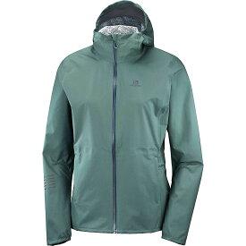 サロモン Salomon レディース スキー・スノーボード ジャケット アウター【Lightning Waterproof Jacket】Balsam Green
