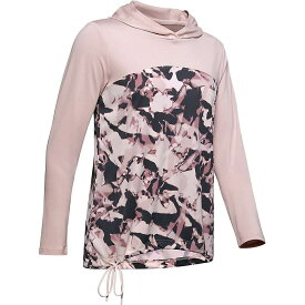 アンダーアーマー Under Armour レディース パーカー トップス【ISO-Chill Fusion Hoodie】Dash Pink/French Grey