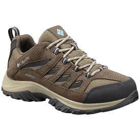 コロンビア Columbia Footwear レディース ランニング・ウォーキング シューズ・靴【Columbia Crestwood Waterproof Shoe】Pebble/Oxygen