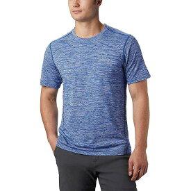 コロンビア Columbia メンズ ランニング・ウォーキング トップス【Deschutes Runner SS Shirt】Azul Heather