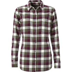 ロイヤルロビンズ Royal Robbins レディース ハイキング・登山 シャツ フランネルシャツ トップス【Lieback Flannel LS Shirt】Bayleaf