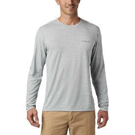 コロンビア Columbia メンズ ランニング・ウォーキング トップス【Deschutes Runner LS Shirt】Columbia Grey Heather