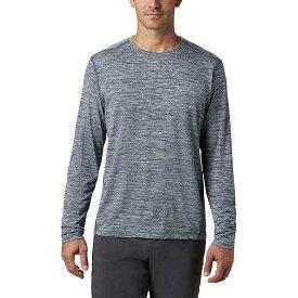 コロンビア Columbia メンズ ランニング・ウォーキング トップス【Deschutes Runner LS Shirt】Dark Mountain Heather