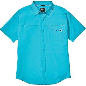 マーモット Marmot メンズ ハイキング・登山 半袖シャツ トップス【Northgate Peak SS Shirt】Enamel Blue