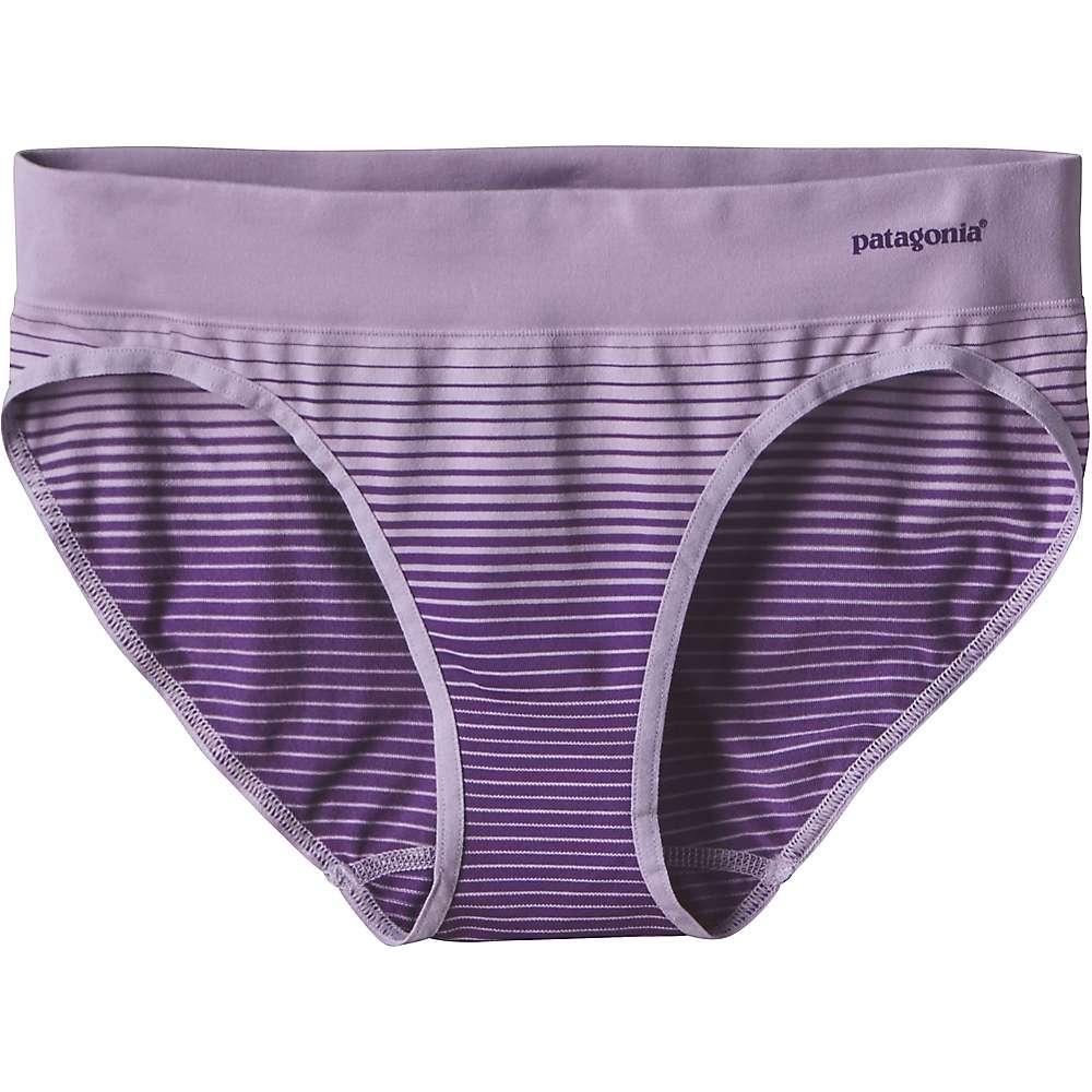 パタゴニア レディース インナー パンティー【Patagonia Active Brief】Ocean Stripe / Petoskey Purple