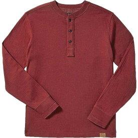 フィルソン Filson メンズ 長袖Tシャツ ヘンリーシャツ トップス【Double Layer Henley】Dark Red