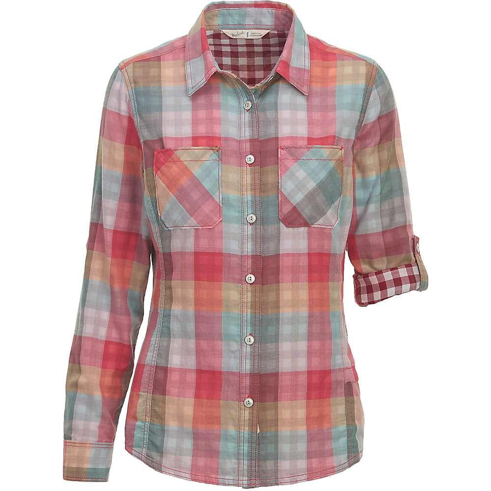 ウールリッチ レディース トップス 長袖シャツ【Woolrich Conundrum Eco Rich Convertible Shirt】Teaberry Buffalo