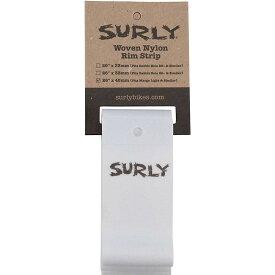 サーリー Surly メンズ 自転車 【Rim Strip: For Marge Lite / Rolling Darryl Nylon】White