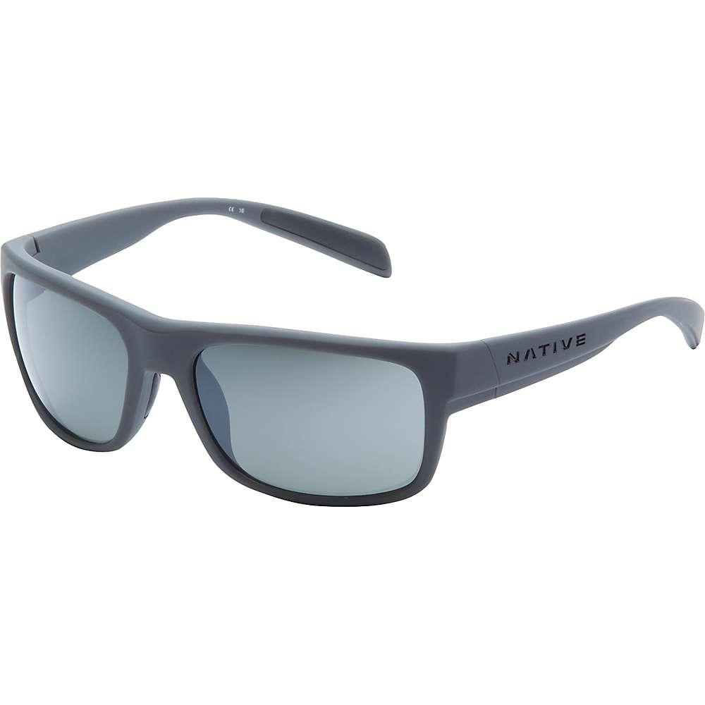 ネイティブ メンズ アクセサリー メガネ・サングラス【Native Ashdown Polarized Sunglasses】Granite / Silver Reflex Polarized