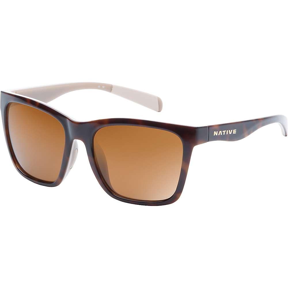 ネイティブ メンズ アクセサリー メガネ・サングラス【Native Braiden Polarized Sunglasses】Maple Tort / Pale Pink / Nude Crstl / Brown Polar
