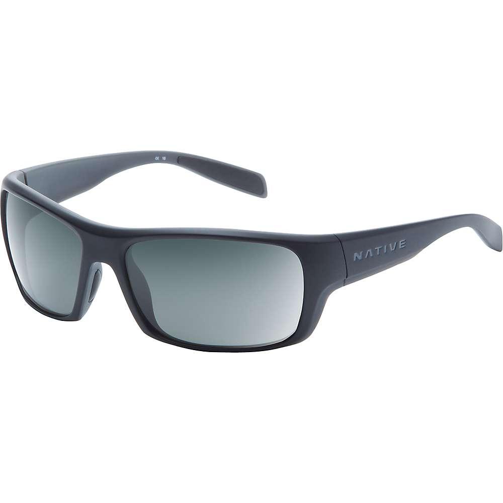 ネイティブ ユニセックス メンズ レディース アクセサリー メガネ・サングラス【Native Eddyline Polarized Sunglasses】Matte Black / Granite / Grey Polarized