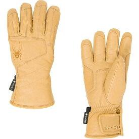 スパイダー Spyder メンズ スキー・スノーボード グローブ【Turret GTX Ski Glove】Natural Leather