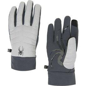 スパイダー Spyder メンズ スキー・スノーボード グローブ【Glissade Hybrid Glove】Alloy