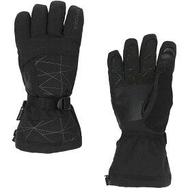スパイダー Spyder メンズ スキー・スノーボード グローブ【Overweb GTX Ski Glove】Black