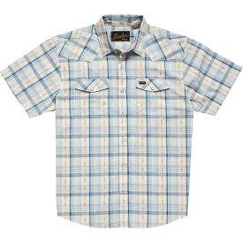 ホウラーブラザーズ Howler Brothers メンズ シャツ トップス【H Bar B Snapshirt】Brooks Plaid Creamy Blue