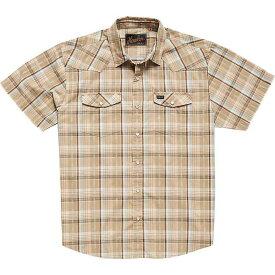 ホウラーブラザーズ Howler Brothers メンズ シャツ トップス【H Bar B Snapshirt】Brooks Plaid Fawn Tan