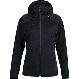 マムート Mammut レディース ジャケット フード アウター【Ultimate VI SO Hooded Jacket】Black