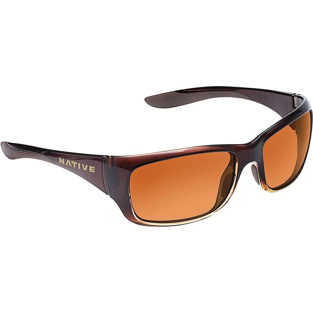 ネイティブ ユニセックス メンズ レディース アクセサリー メガネ・サングラス【Native Kannah Polarized Sunglasses】Stout Fade / Brown