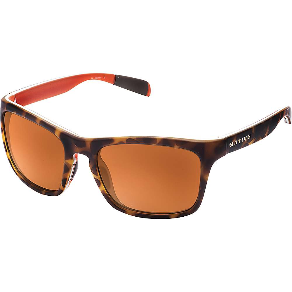 ネイティブ ユニセックス メンズ レディース アクセサリー メガネ・サングラス【Native Sanitas Polarized Sunglasses】Desert Tort / Brown