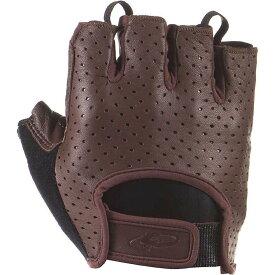 リザード Lizard Skins メンズ 自転車 ショートパンツ グローブ【Aramus Classic Short Finger Gloves】Brown