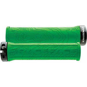 レースフェイス RaceFace ユニセックス 自転車 グリップ【Half Nelson Lock-On Grip】Green