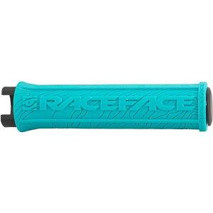 レースフェイス RaceFace ユニセックス 自転車 グリップ【Half Nelson Lock-On Grip】Turquoise