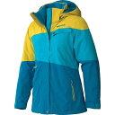 マーモット レディース スキー・スノーボード アウター【Marmot Moonshot Jacket】Aqua Blue / Yellow Vapor
