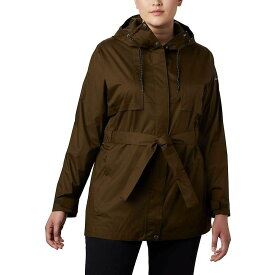 コロンビア Columbia レディース レインコート アウター【Pardon My Trench Rain Jacket】Olive Green