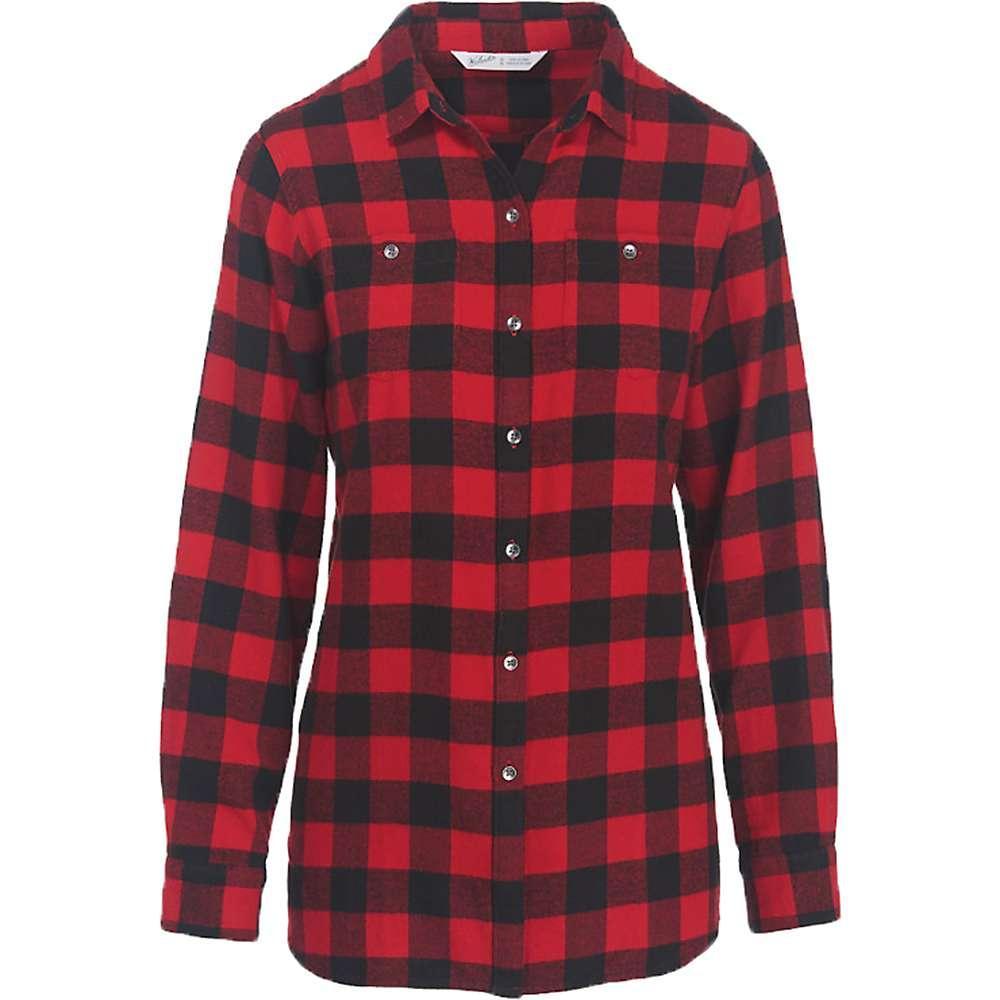 ウールリッチ レディース トップス ブラウス・シャツ【Woolrich Buffalo Check Boyfriend Shirt】Old Red Check