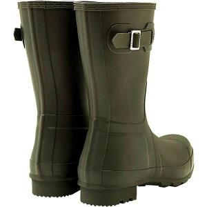 ハンター Hunter メンズ レインシューズ・長靴 シューズ・靴【Original Short Boot】Dark Olive