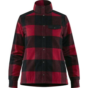 フェールラーベン Fjallraven レディース ダウン・中綿ジャケット アウター【Canada Wool Padded Jacket】Red