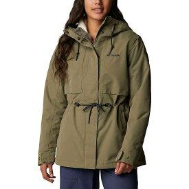 コロンビア Columbia レディース ジャケット アウター【Drop Ridge Interchange Jacket】Stone Green