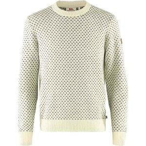 フェールラーベン Fjallraven メンズ ニット・セーター トップス【Ovik Nordic Sweater】Chalk White