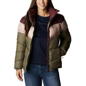 コロンビア Columbia レディース ジャケット アウター【Puffect Color Blocked Jacket】Stone Green/Mineral Pink/Malbec