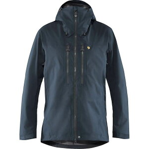 フェールラーベン Fjallraven メンズ ジャケット シェルジャケット アウター【Bergtagen Eco Shell Jacket】Mountain Blue
