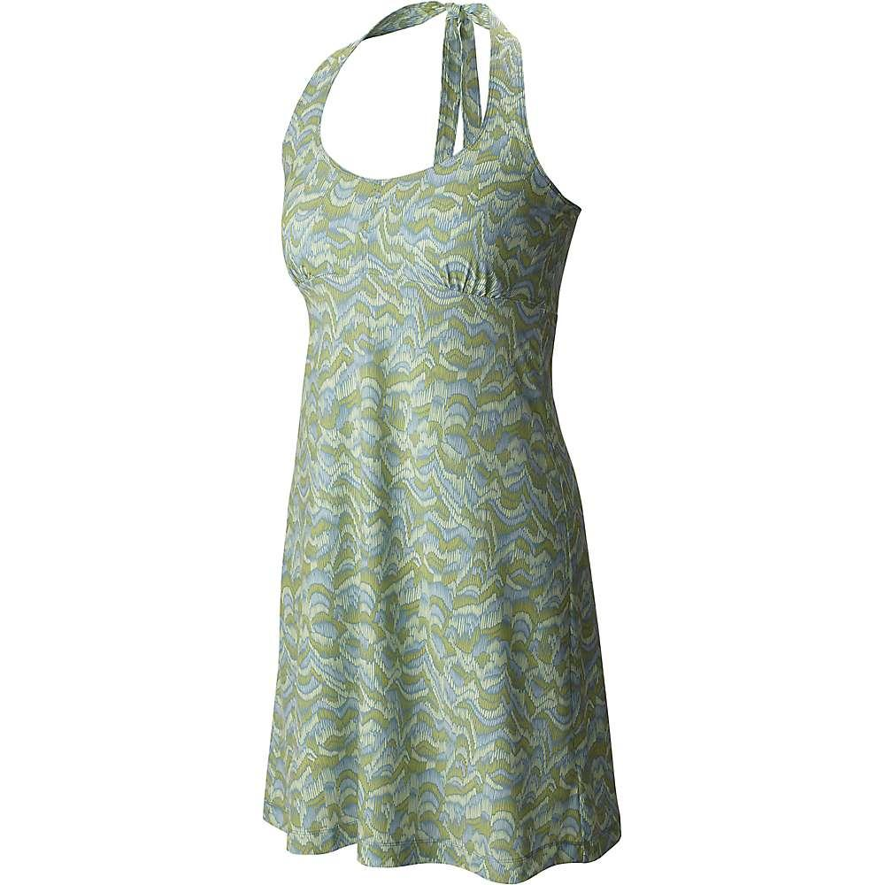 コロンビア レディース ワンピース・ドレス ワンピース【Columbia Armadale Halter Top Dress】Endive Raindrop Wave Print