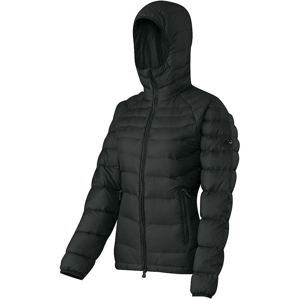 マムート レディース アウター ダウンジャケット【Mammut Miva IN Hooded Jacket】Black