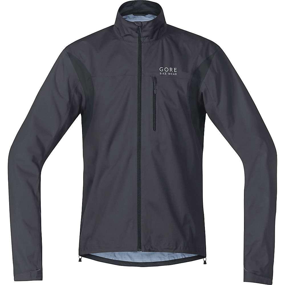 ゴア メンズ 自転車 アウター【Gore Bike Wear Element GTX Active Jacket】Raven Brown / Black