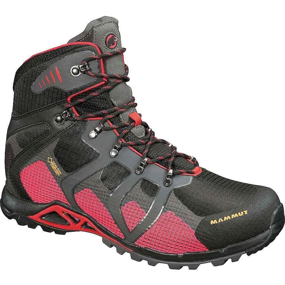 マムート メンズ ハイキング・登山 シューズ・靴【Mammut Comfort High GTX Surround Boot】Black / Inferno